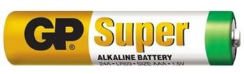 Baterie GP SuperAlkaline AAA R3A, 1.5V, mikrotužka, 8pack