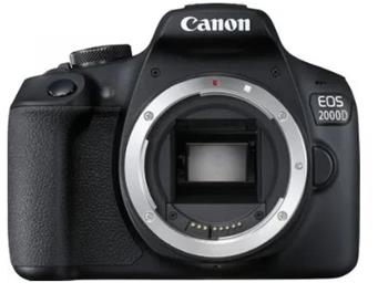 Canon EOS 2000D + EF-S 18-55mm IS + EF 75-300mm DC