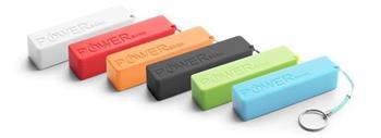 EXTREME XMP101G QUARK externí baterie 2000mAh, různé barvy