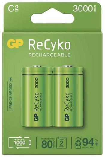 GP ReCyko 3000 HR14 (C), malé mono, 2 pack