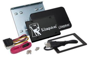 "Kingston SSD bundle 512GB KC600 SATA III 2.5"""