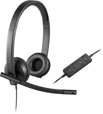 Náhlavní sada Logitech H570e Sluchátka USB Stereo