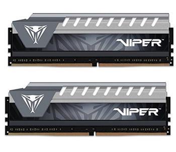 Patriot Viper ELITE DDR4 16GB KIT ( 2x8GB) 2666MHz CL16-17-17-36 šedá