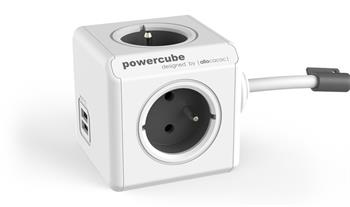 PowerCube EXTENDED USB GREY 3m