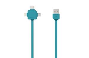 PowerCube USBcable USB-C Blue