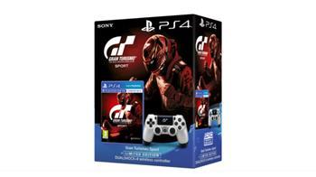 PS4 DUALSHOCK - Gran Turismo Sport edice - verze 2 + hra Gran Turismo Sport