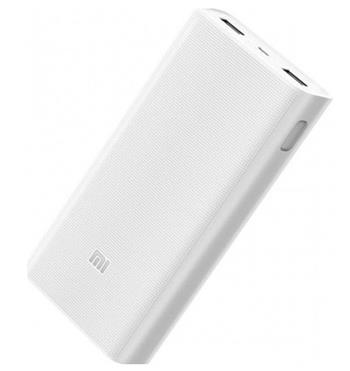 Xiaomi PLM06ZM Powerbank 2C 20000 mAh, Quick charge - bílá